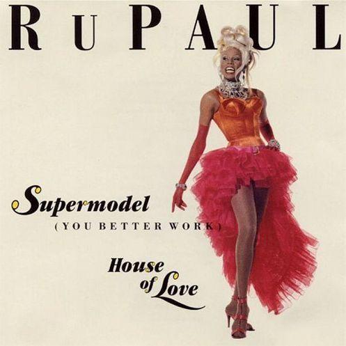 Cover art for <em>Supermodel</em>.
