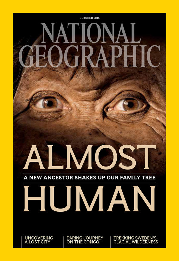 """More details of the discovery of <em>H. naledi</em> appear in <em>National Geographic</em> magazine. All images in this post are from the magazine's <a href=""""http://natgeo.org/naledi"""">October issue</a>."""