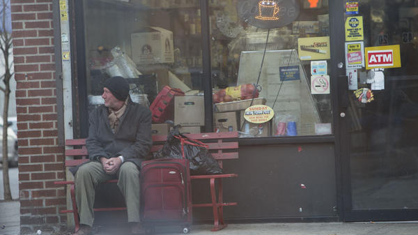 Richard Gere plays the homeless George harrowed by his demons in <em>Time Out of Mind</em>.