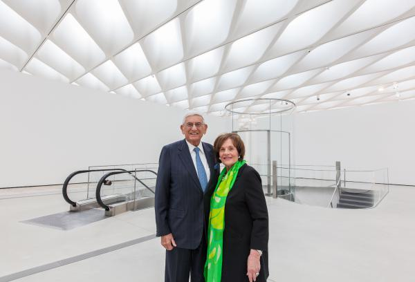 Eli and Edythe Broad have been collectors for more than 40 years.