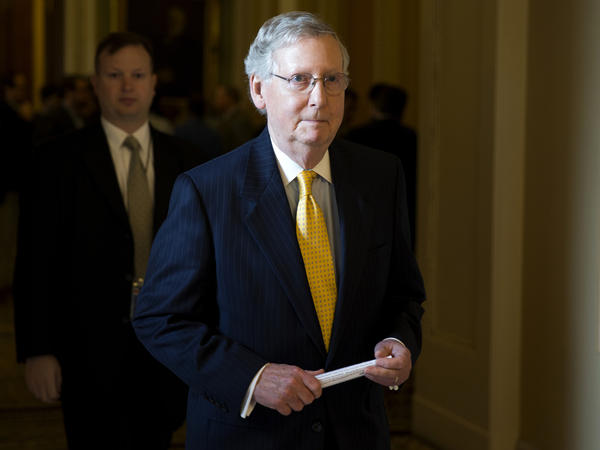 Senate Majority Leader Mitch McConnell brought a measure up for a vote Thursday that funded the government but defunded Planned Parenthood. Democrats banded together to block it.