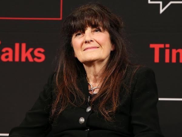 Former <em>New York Times</em> restaurant critic and <em>Gourmet</em> editor Ruth Reichl speaks in New York City in 2013.
