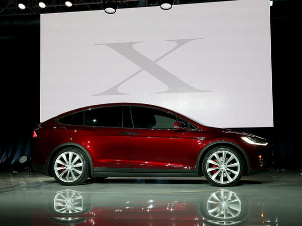 Tesla says the Model X can seat seven adults and go from zero to 60 miles per hour in 3.2 seconds.
