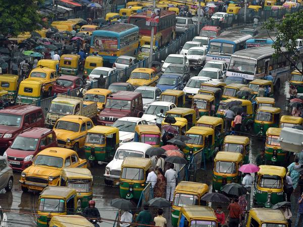 India's capital is among the most polluted cities in the world, thanks in large part to the growing number of vehicles on its roads. In its just-announced climate change plan, India does not commit to an absolute reduction of its emissions. Instead, it will slow the release of greenhouse gases.
