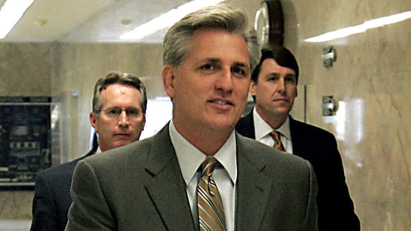 Kevin McCarthy, then in the California Assembly, walks to the governor's office at the Capitol in Sacramento in 2006.