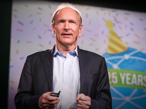 Sir Tim Berners-Lee speaking at TED.