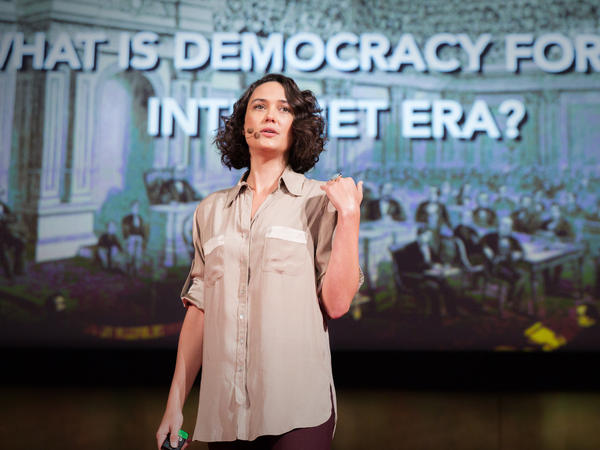 Pia Mancini thinks democracy needs to be upgraded — and open source technologies can help.
