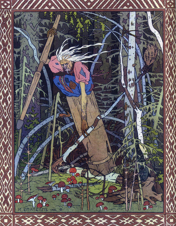 Russia's Baba Yaga has been giving Eastern European children insomnia for centuries.