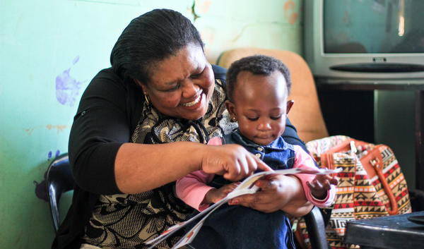 Put in a load, read a book: It's a relief for parents who were washing clothes by hand and a joy for kids to have Mom or Dad read a story to them.