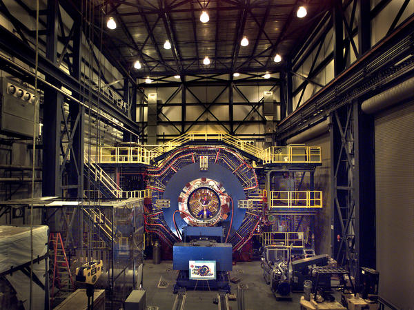 Physicists used a giant particle collider on Long Island, N.Y., to make antimatter. Then they studied it using this giant detector.