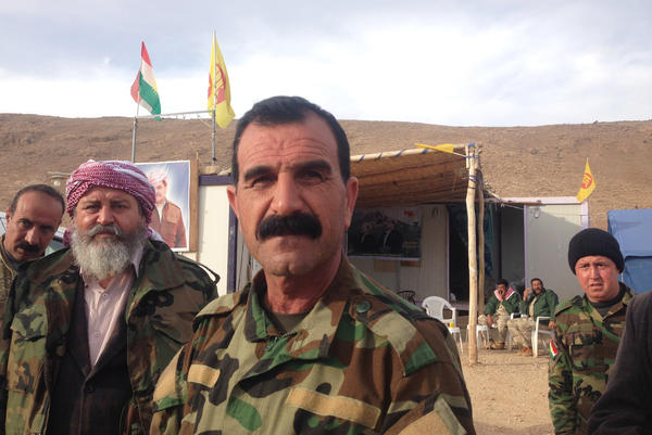 Yazidi commander Badr al-Hajji says he considers any Arab Muslims who stayed in ISIS-controlled areas to be the same as ISIS. When his forces progress to the ISIS-held Arab villages south of Sinjar, he warns that those who remain will face the Yazidis' wrath.
