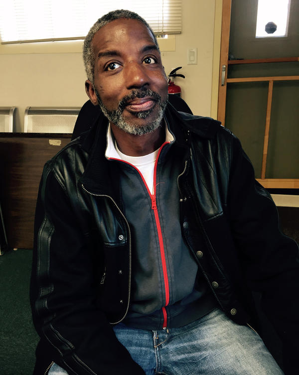 Johnny Boykin, 51, of Washington, D.C., has been without his own home for about 10 years. He rotates between the homes of relatives and friends.
