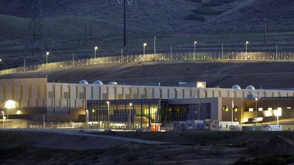 A National Security Agency data center in Bluffdale, Utah.