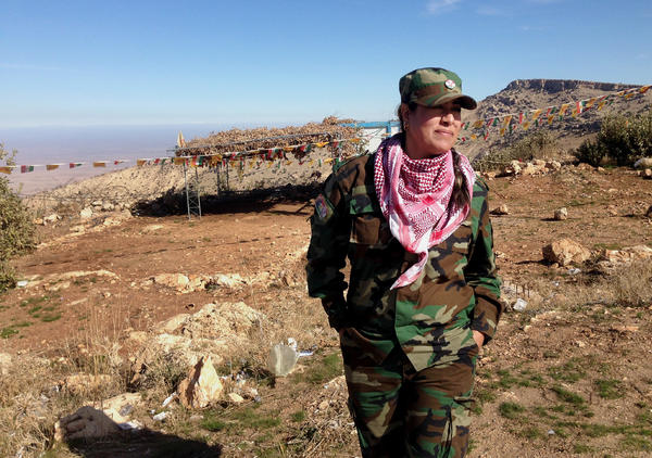 """Dr. Khansa Shamdeen is from Syria, and came to help displaced Yazidis in northern Iraq. She stayed on Mount Sinjar through a long, hard winter, enduring an ISIS siege and providing basic health care. She says, """"I came here of my own free will, so I never forgot the hope."""""""