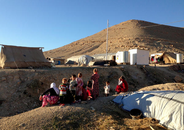 Members of Iraq's Yazidi minority spent last winter on Mount Sinjar, passing up the opportunity to escape an ISIS siege even when a path was opened. Last week, ISIS was pushed farther away when U.S.-backed Kurdish forces retook Sinjar city.