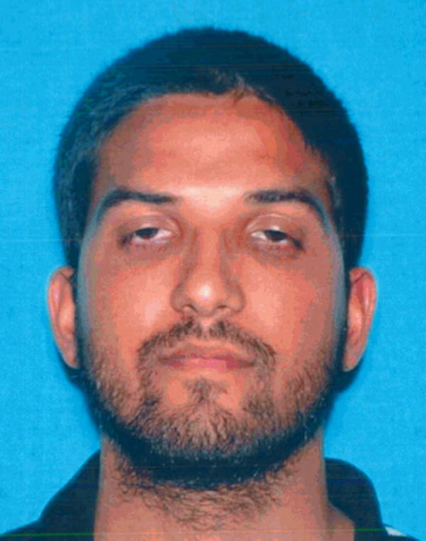This undated photo provided by the California Department of Motor Vehicles shows Syed Rizwan Farook, who has been named as a shooting suspect in the San Bernardino shootings.