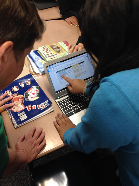 Google Chromebooks and Google Apps for Education in use in Arlington, Texas.