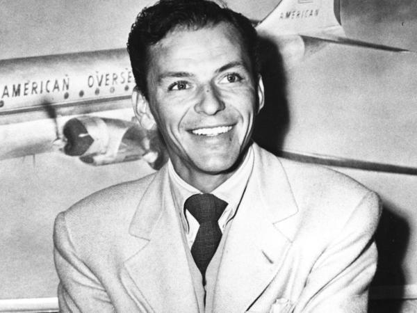 """Frank Sinatra was known as a member of the """"Rat Pack,"""" along with Dean Martin, Sammy Davis Jr., Peter Lawford and Joey Bishop."""