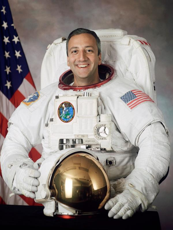 Mike Massimino, pictured here in 2002, was selected for the astronaut corps after applying four times.