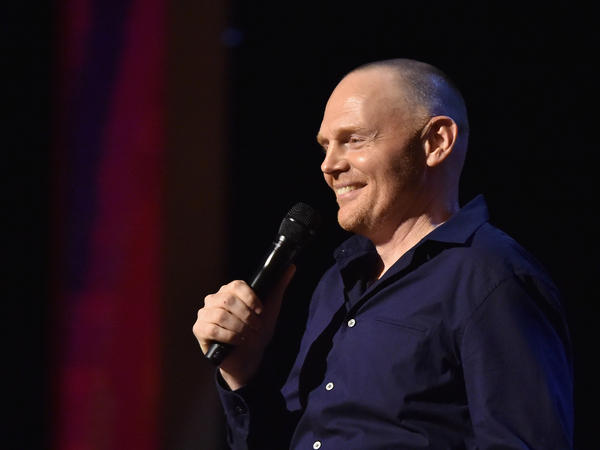 Comic Bill Burr performs at Beacon Theatre in New York.