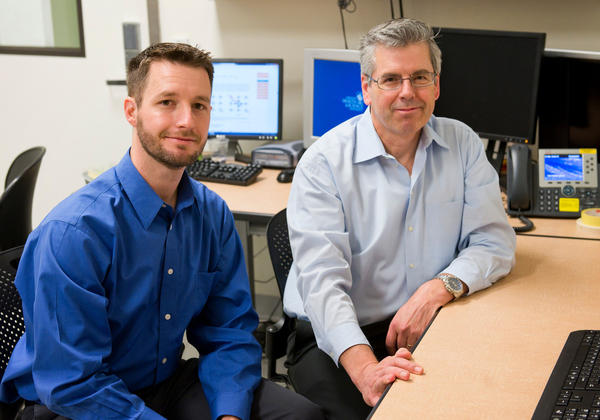 Jeffrey Iliff (left), a brain scientist at Oregon Health & Science University, has been studying toxin removal in the brains of mice. He'll work with Bill Rooney, director of the university's Advanced Imaging Research Center, to enroll people in a similar study in 2016.