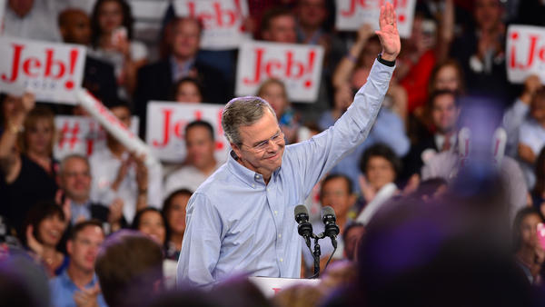 When former Gov. Jeb Bush announced his candidacy in June 2015, he was talked about as the likely front-runner for the GOP nomination.