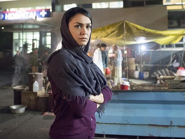 Nazanin Boniadi plays analyst Fara Sherazi on Showtime's <em>Homeland</em>.