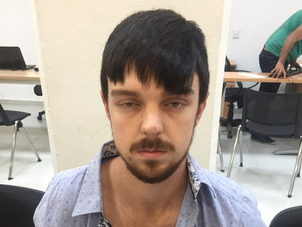 A photo from the Jalisco state prosecutor's office in Mexico shows Ethan Couch after he was taken into custody in Puerto Vallarta, Mexico. Couch has won a temporary stay of extradition to the U.S., according to the U.S. Marshals Service.