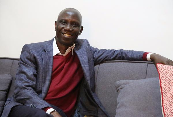 """""""Uncle"""" Ebo Whyte."""