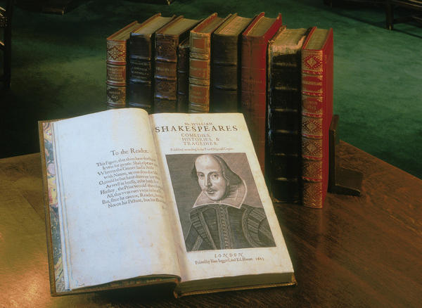 To mark the 400th anniversary of William Shakespeare's death, the Folger Shakespeare Library is sending the first printed collection of all his plays out on tour.