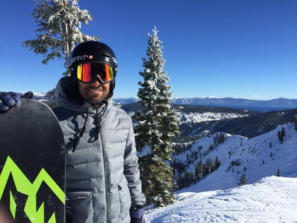 Professional snowboarder Jeremy Jones began noticing the effects of climate change more than a decade ago on his home mountain, Squaw Valley, Calif.