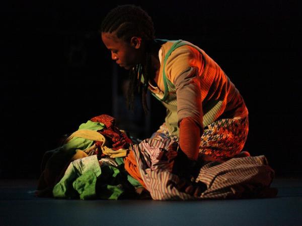 Dorothée Munyaneza plays her 12-year-old self in <em>Samedi Détente</em>.