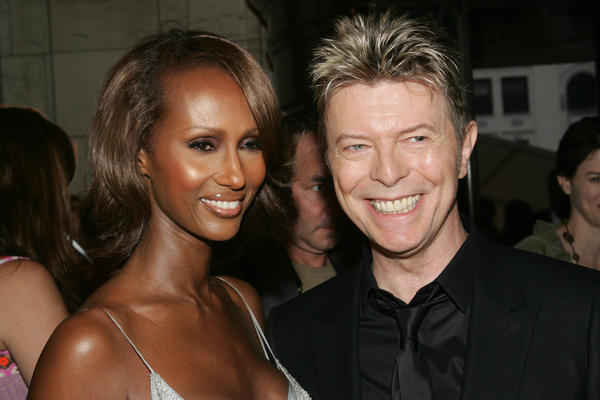 Bowie and his wife, Iman, attend the 2005 CFDA Awards in New York City.