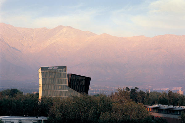 "Alejandro Aravena, winner of this year's Pritzker Architecture Prize, ""understands materials and construction, but also the importance of poetry and the power of architecture to communicate on many levels,"" the jury citation states. (Above) Aravena's 2005 Siamese Towers, which he designed for his alma mater, Universidad Católica de Chile."