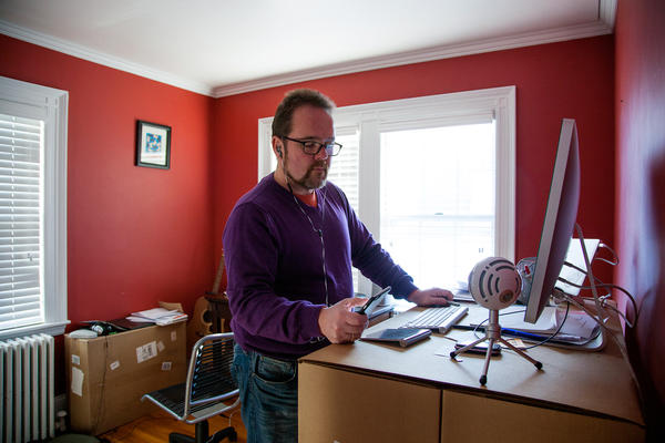 Tim Kilroy runs a business from his home in Arlington, Mass. His insurance company quit covering the long-acting Ritalin that helps him manage his ADHD.