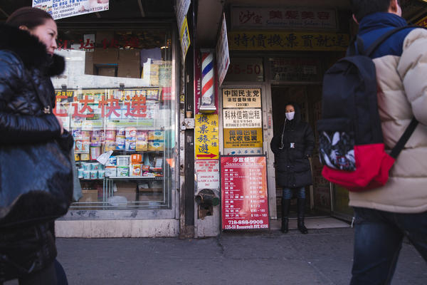 In the Queens neighborhood of Flushing many shops are catering to the growing immigrant population from Northern China.