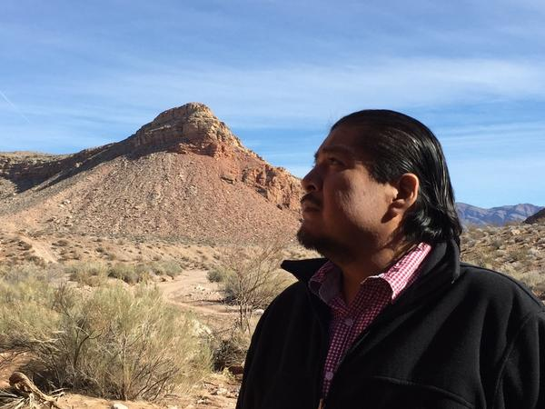 """""""Get in line"""" is what William Anderson, former chairman of the Moapa Band of Paiutes, says of the current take-back-federal-lands movement."""