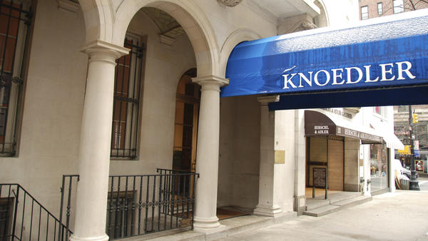 The Knoedler & Company art gallery, shown here in 2010, had been in business  since before the Civil War. The gallery permanently closed its doors in 2011.
