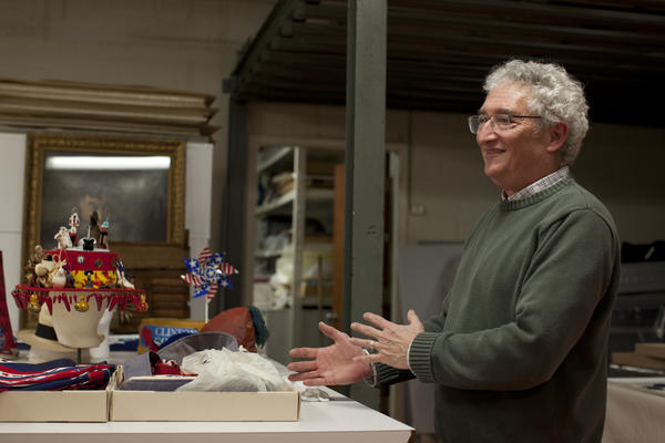 Harry Rubenstein talks about memorabilia from different presidential campaigns.