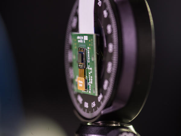 Rice University's FlatCam is based on a standard imaging sensor paired with a mask and decoding software.