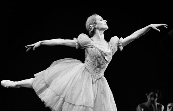 """French ballerina Violette Verdy performs in """"Giselle"""" in Paris on October 27, 1972. Violette Verdy, dancer, choreographer and former director of the Opera de Paris and other world-class companies, died in the United States on February 8, 2016 at the age of 82. (Michel Clement/AFP/Getty Images)"""