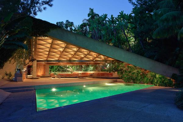 """James Goldstein has just announced that he will donate his landmark Los Angeles residence — designed by architect John Lautner --€"""" to the Los Angeles County Museum of Art. """"Minimal is the word ... """" he says. """"Everything is simple and at the same time beautiful."""""""