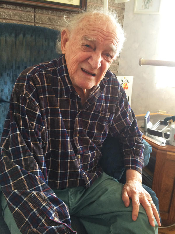 Bob Ebeling, now 89, at his home in Brigham City, Utah.