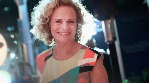 Screenwriter Meg LeFauve attends <em>The Hollywood Reporter</em>'s Nominees Night on Feb. 8. LeFauve co-wrote two 2015 Pixar films: <em>Inside Out</em> and <em>The Good Dinosaur</em>.