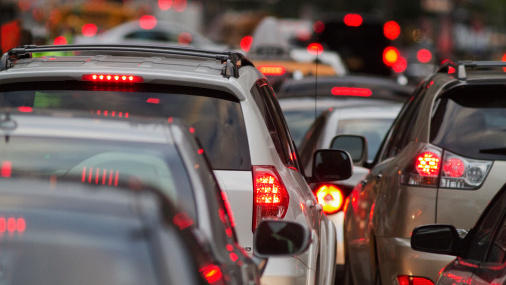 Fueled by low gas prices and a stronger economy, Americans drove a record 3.15 trillion vehicle miles in 2015. But the additional driving may lead to more pollution and traffic gridlock.