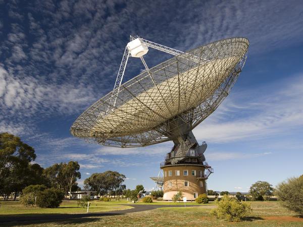 CSIRO's Parkes radio telescope in Australia.