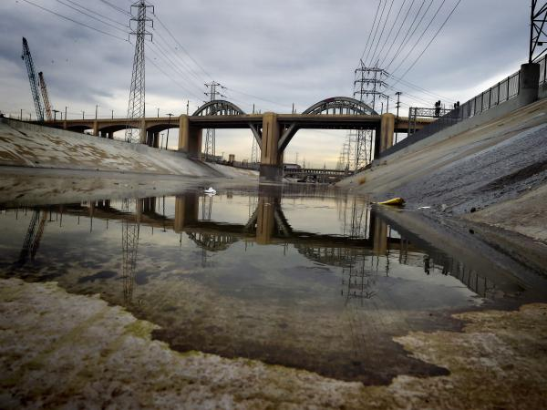The crumbling Sixth Street Viaduct, which has appeared in scores of Hollywood productions, is being demolished due to safety concerns.