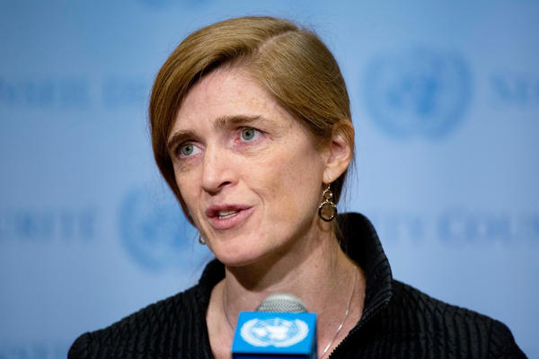 "Samantha Power, the U.S. Ambassador to the United Nations, says the proposed resolution sanctioning North Korea ""is the toughest sanctions resolution that has been put forward in more than two decades."""