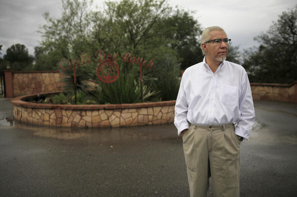 NPR's Claudio Sanchez visits the site of Treehaven — the school where he taught so many years ago, just outside Tucson, Ariz.