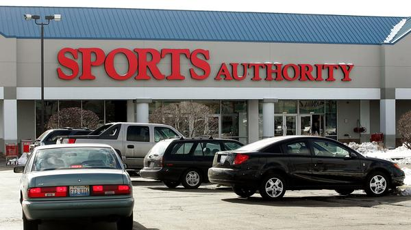 A Sports Authority store in Niles, Ill.